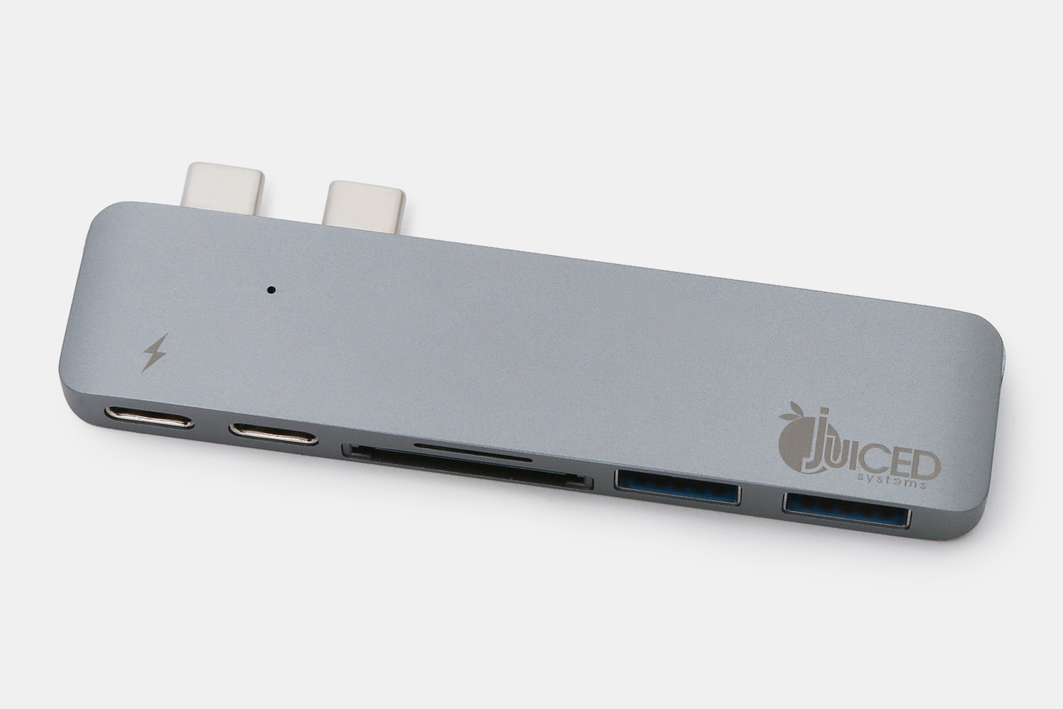 Juiced USB-C MacBook Pro 6 Port Adapter – Space Grey (+ $10)