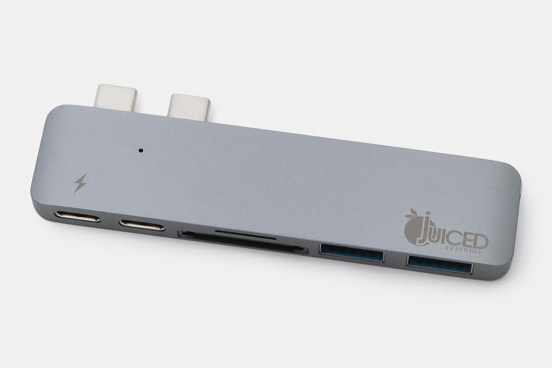 Juiced USB-C MacBook Pro 6 Port Adapter – Space Grey (+ $10)