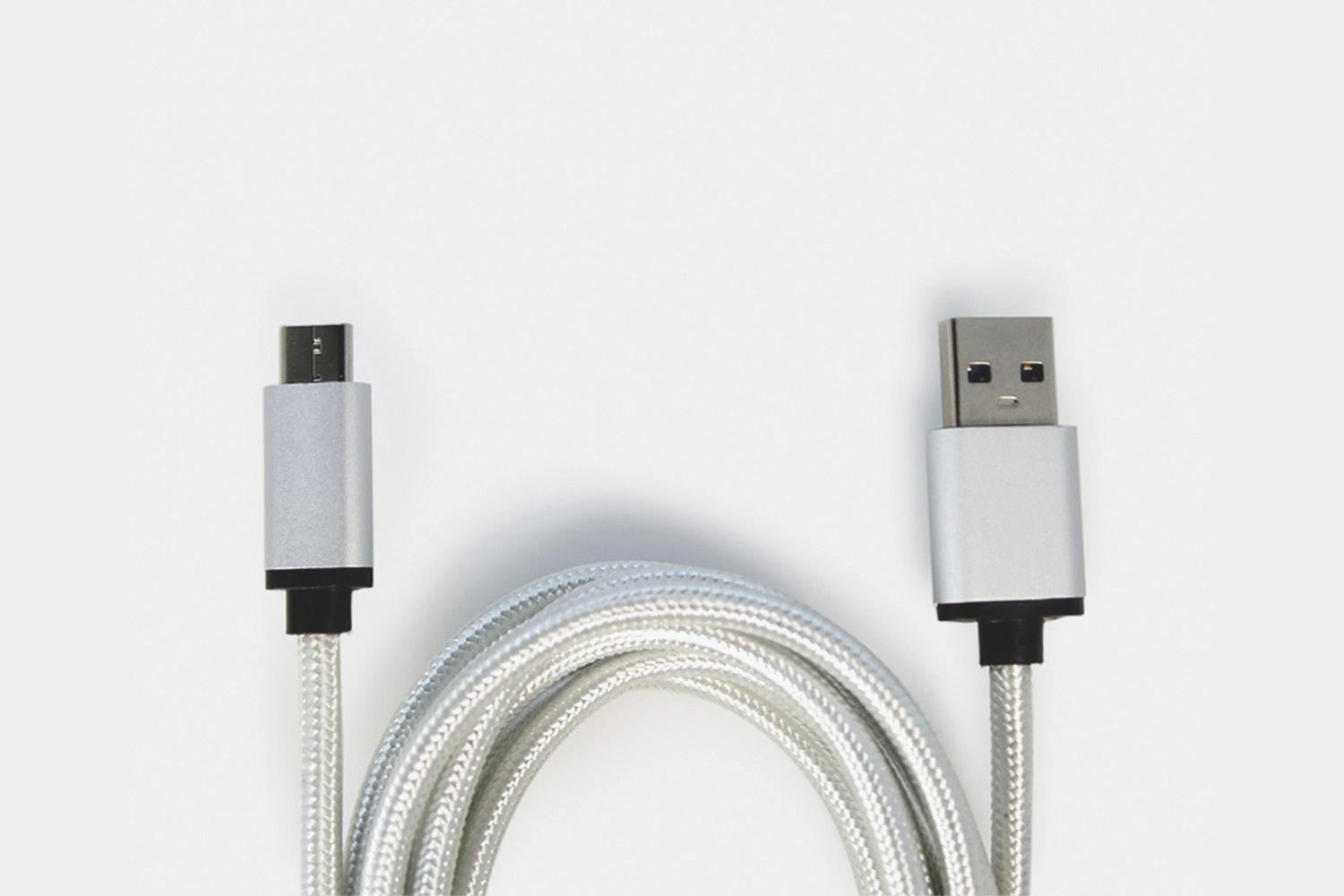 USB-C to USB 3.0 Cable – Silver (+ $9)