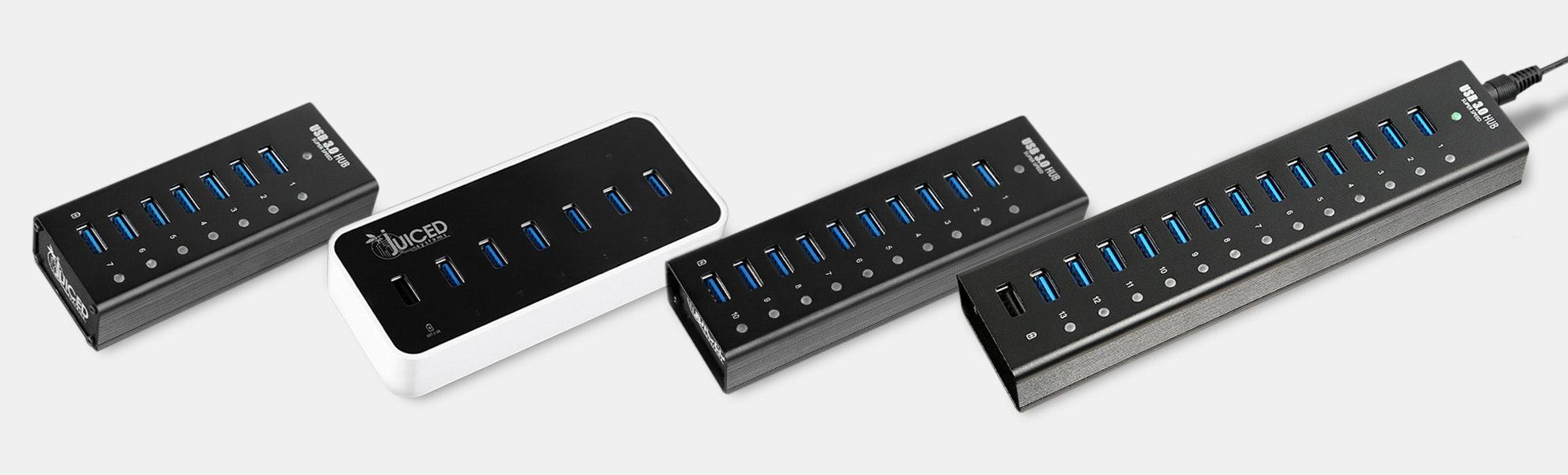 Juiced Systems USB 3.0 Hubs