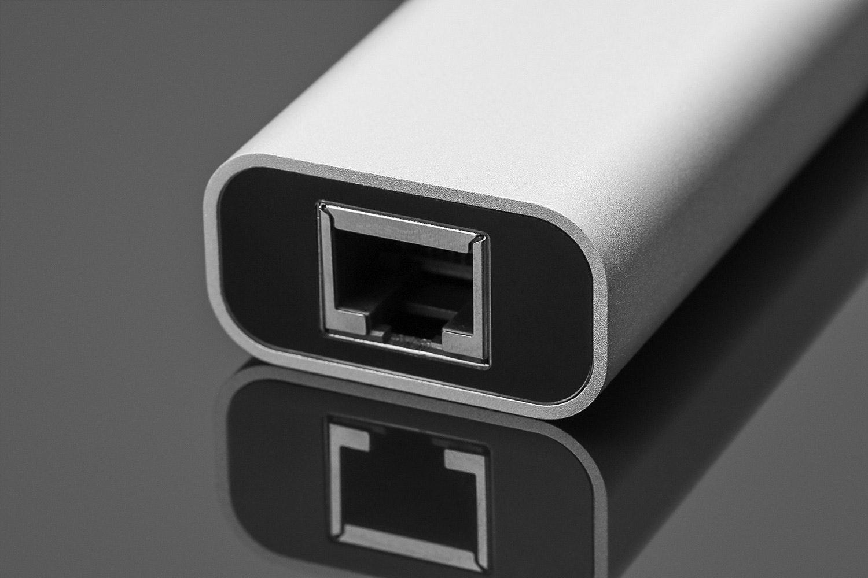 Juiced USB-C 2 Port USB 3.0 Gigabit Hub