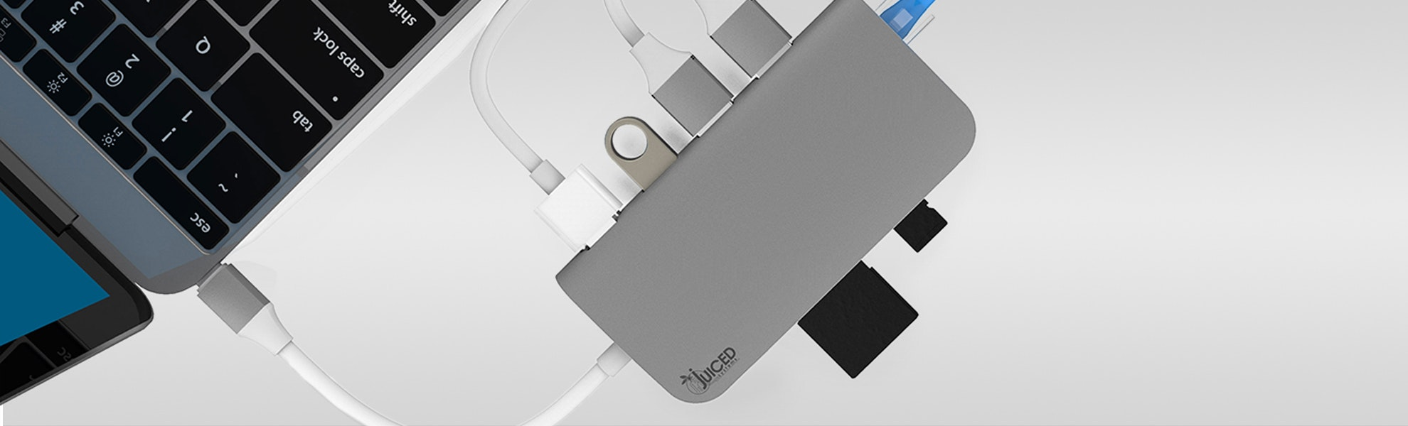 Juiced USB-C MultiPort Gigabit HDMI Hub