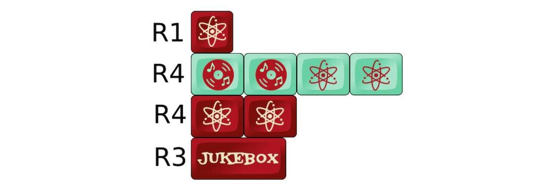 Jukebox SA Custom Keycap Set