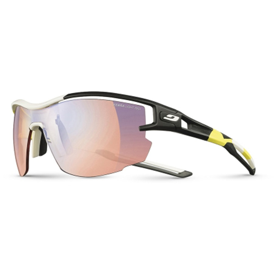 Aero Pro Team – Yellow/White/Black – Zebra Light Red (+$45)