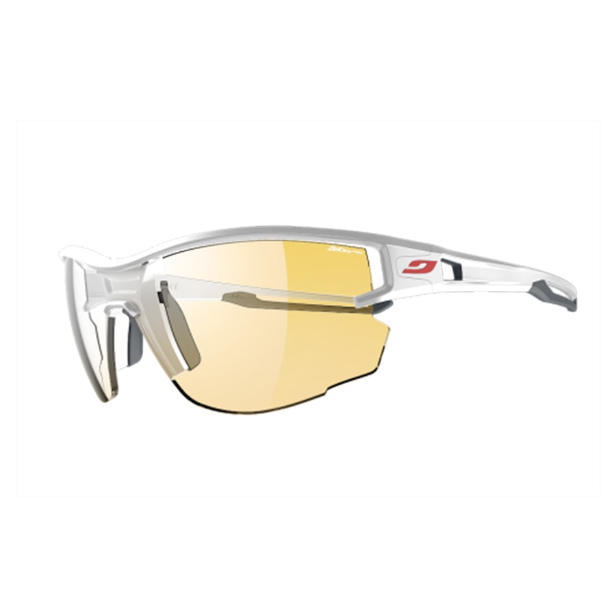 Aero  – Large – White/Gray – Zebra Light (+ $35)
