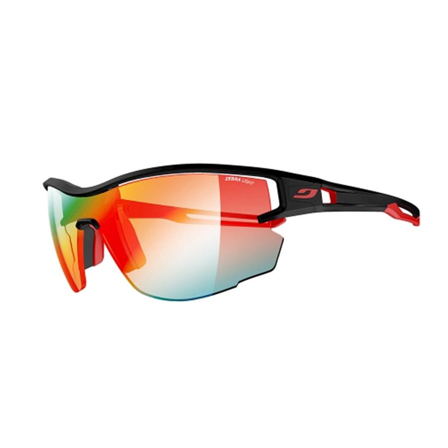 Aero  – Large – Black/Red – Zebra Light (+ $35)