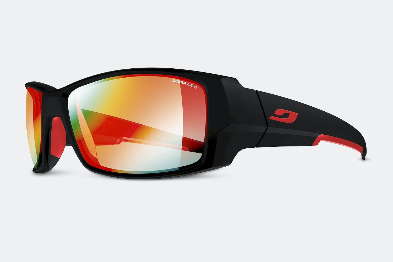Matte Black/Red – Zebra Light (+ $20)