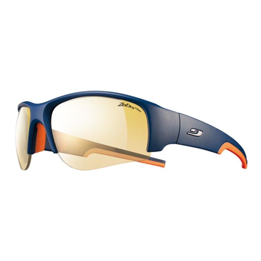 Blue/Orange, Zebra Light photochromic lenses