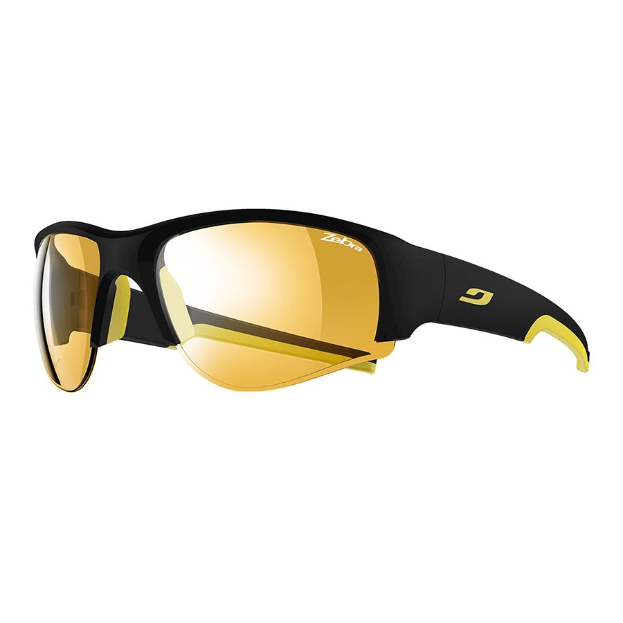 Black/Yellow, Zebra photochromic lenses