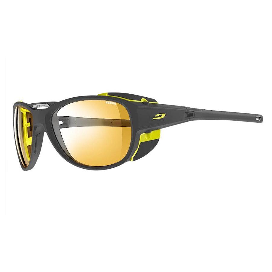 Zebra lenses:  Matte Gray/Yellow (+ $35)