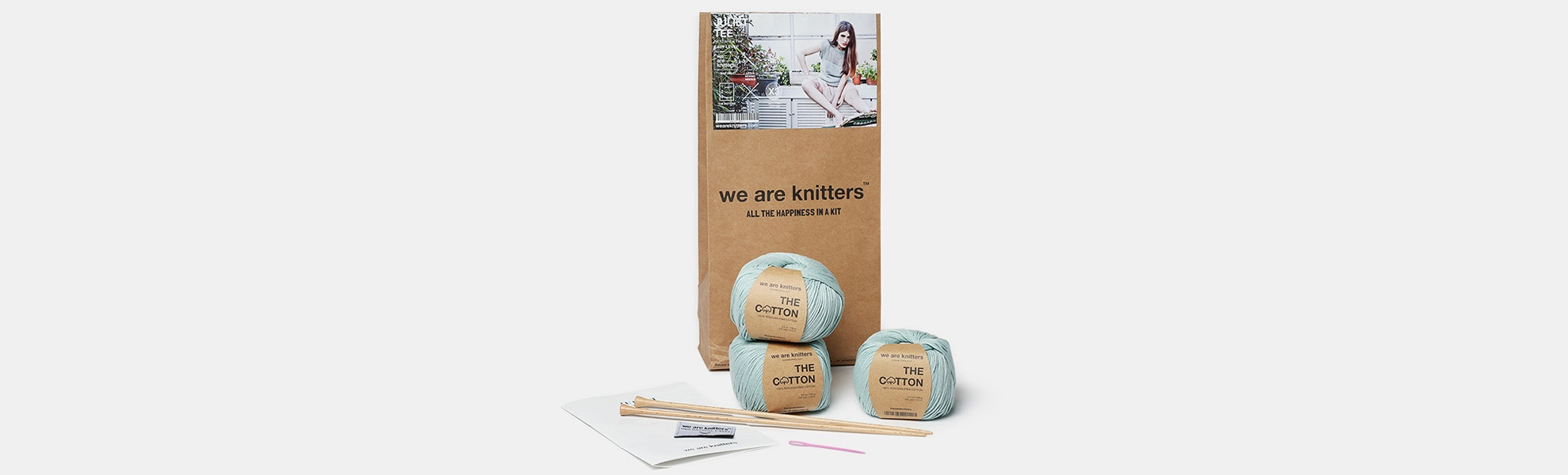 Juliet Tee Kit by We Are Knitters