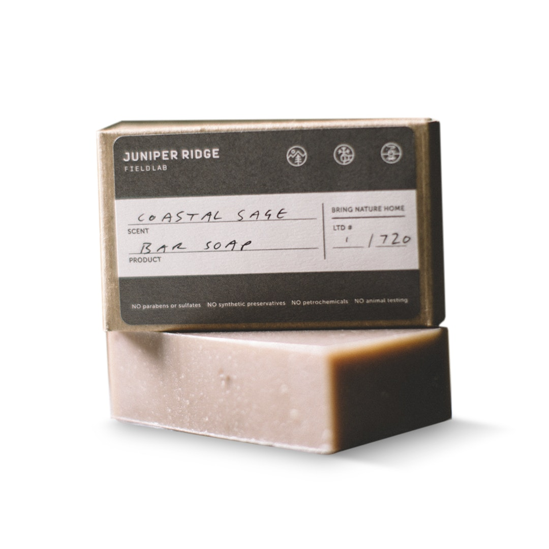 Juniper Ridge Field Lab Coastal Sage Bar Soap