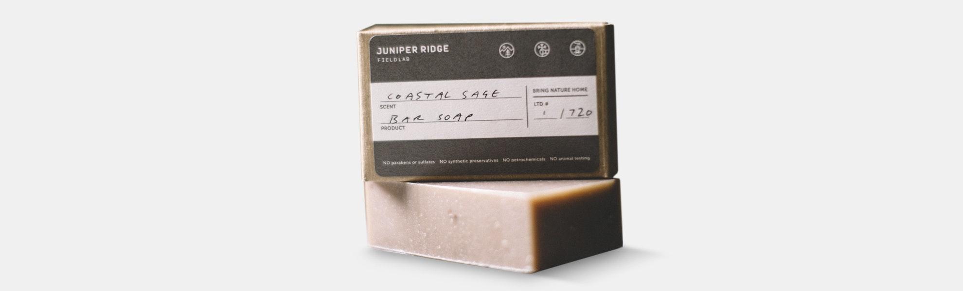 Juniper Ridge Field Lab Coastal Sage Bar Soap