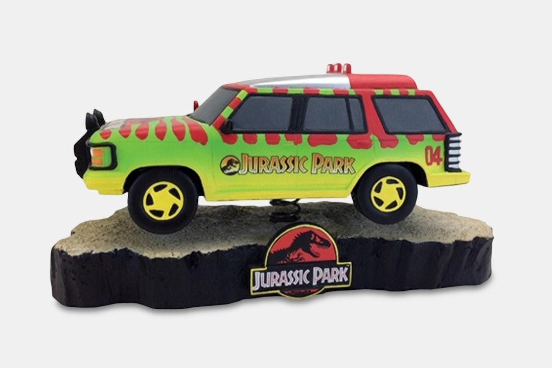 Jurassic Park Premium Motion T-Rex Statue Bundle