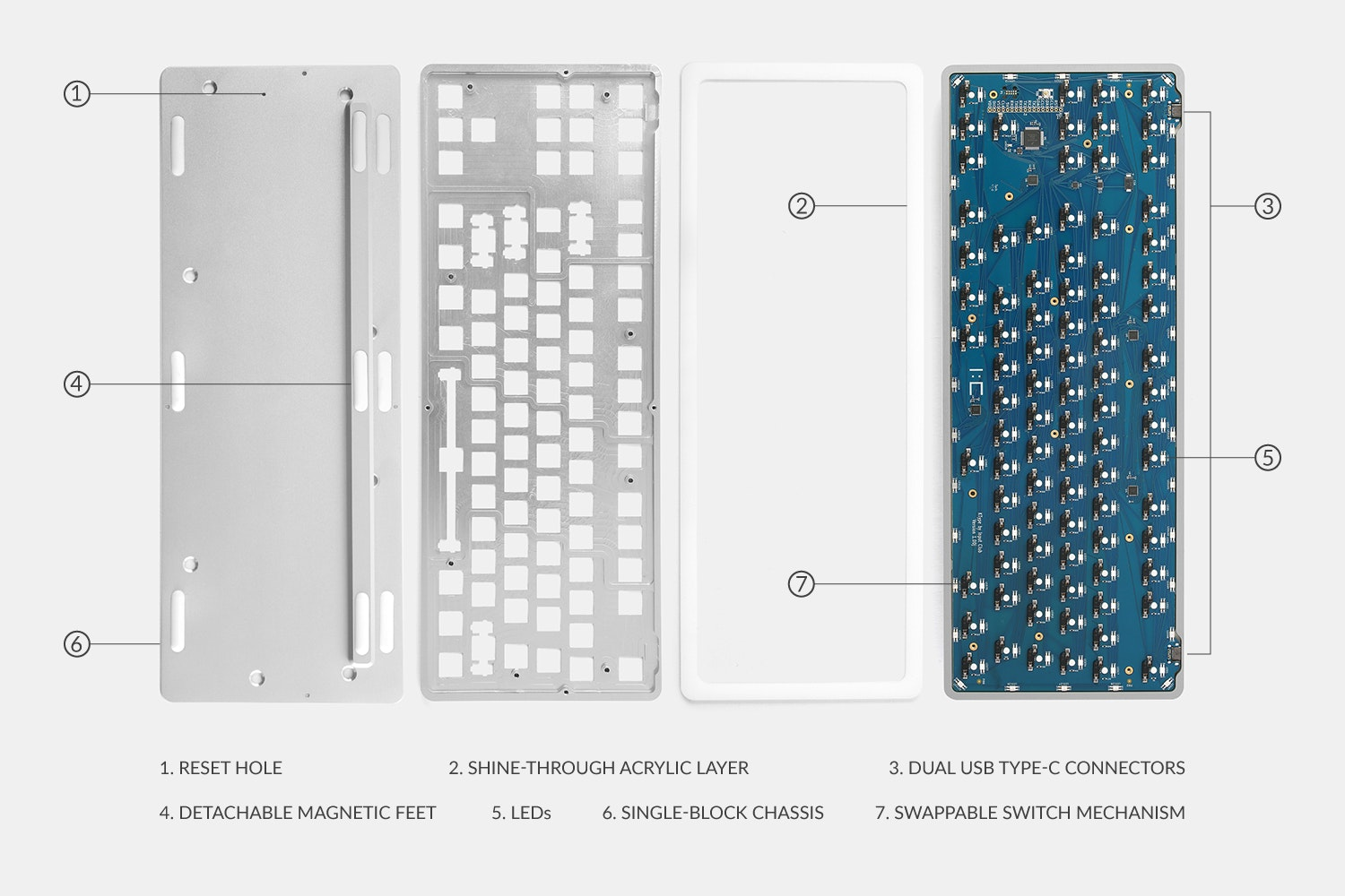 Massdrop x Input Club K-Type Mechanical Keyboard