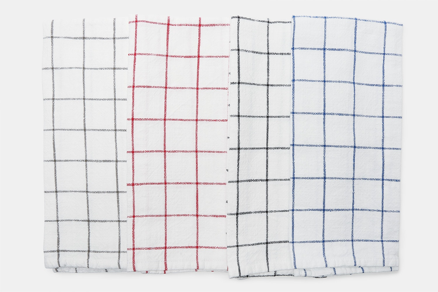 KAF Lyon Grid Towels (Set of 4)