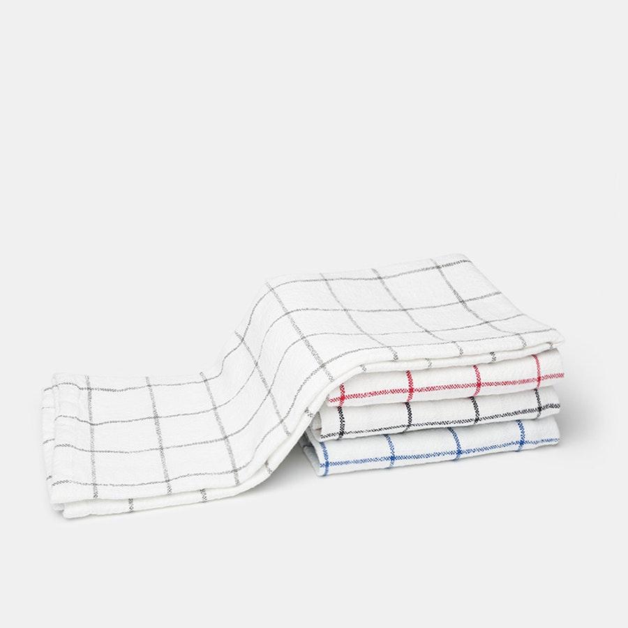 KAF Lyon Grid Towels (Set of 4)