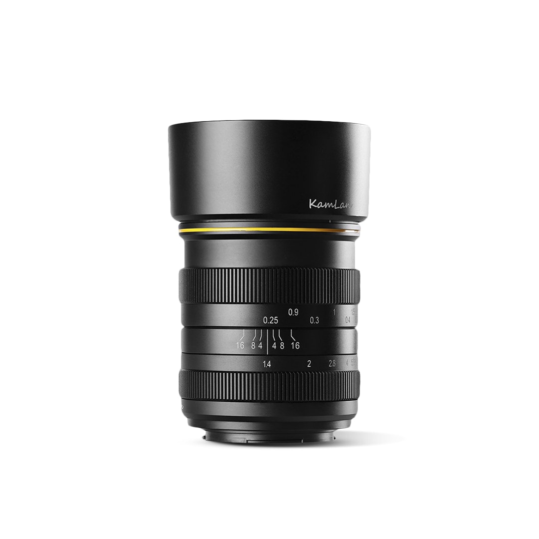 Kamlan 28mm F1.4 Manual Focus Prime Lens