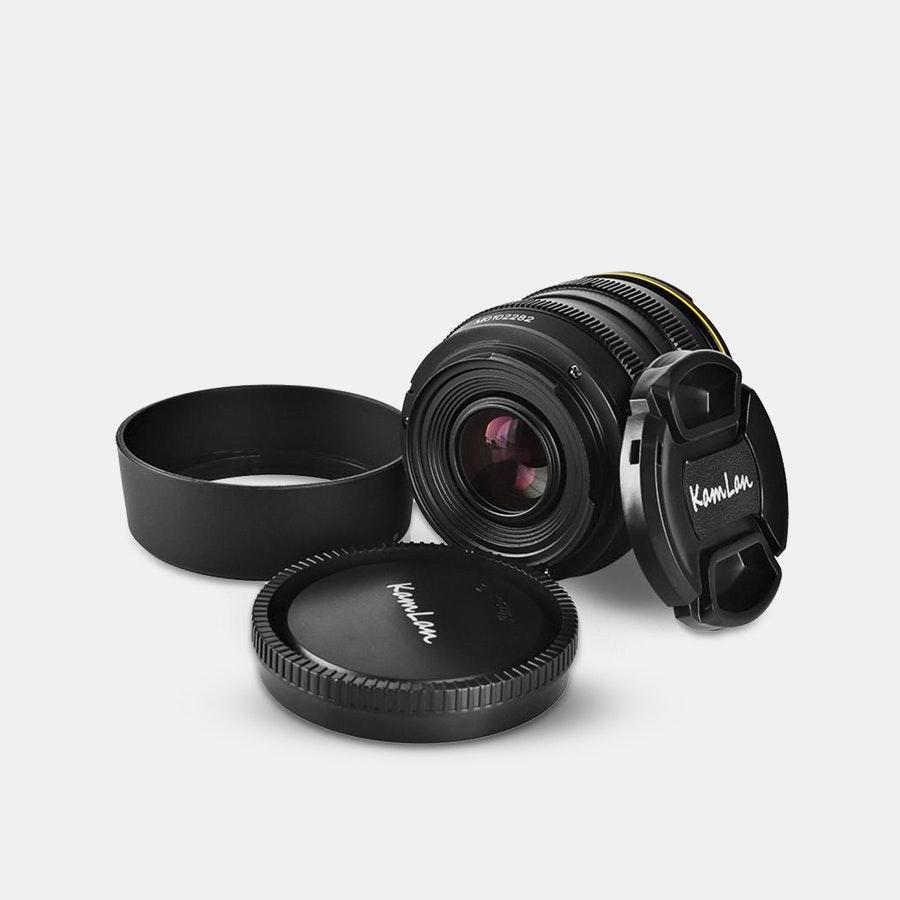Kamlan 50mm F/1.1 APS-C Prime Lens