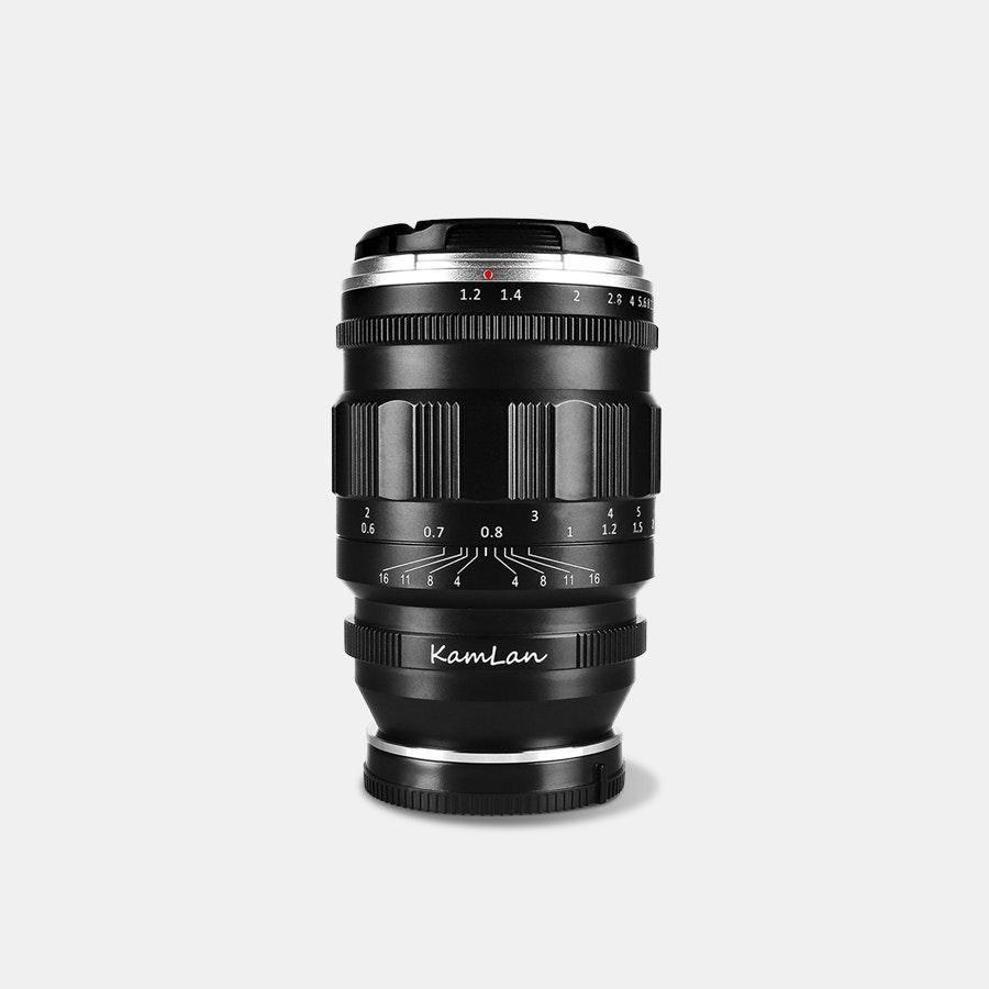 Kamlan 55mm F/1.2 Full-Frame Prime Lens