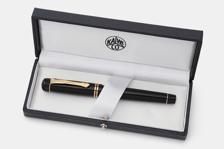 Kaweco Dia2 Black & Gold Fountain Pen