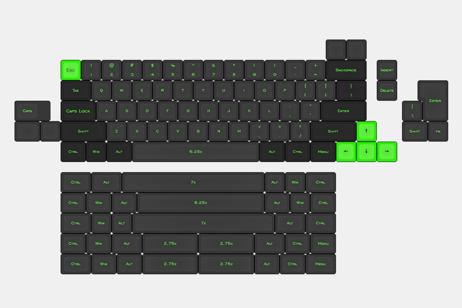 KBD66 Custom Mechanical Keyboard Kit