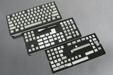 129-Key Top Printed PBT Cherry Keycap Set - Gray (+ $20)