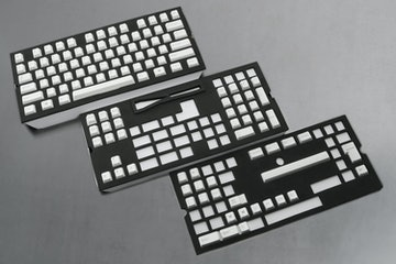 129-Key Top Printed PBTCherry Keycap Set - White (+ $20)
