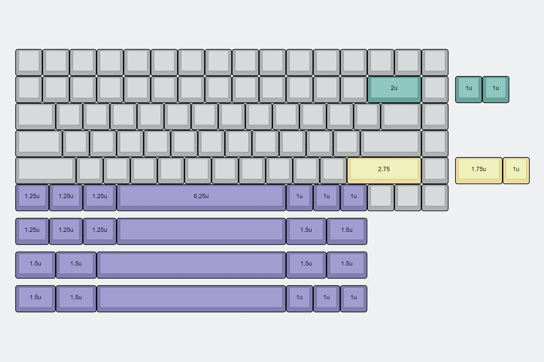 KBDFans 75% Custom Mechanical Keyboard Kit