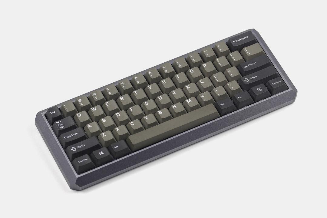 KBDFans 5° Aluminum 60% Mechanical Keyboard Kit