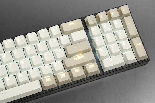 Backlit Doubleshot PBT Keycap Set