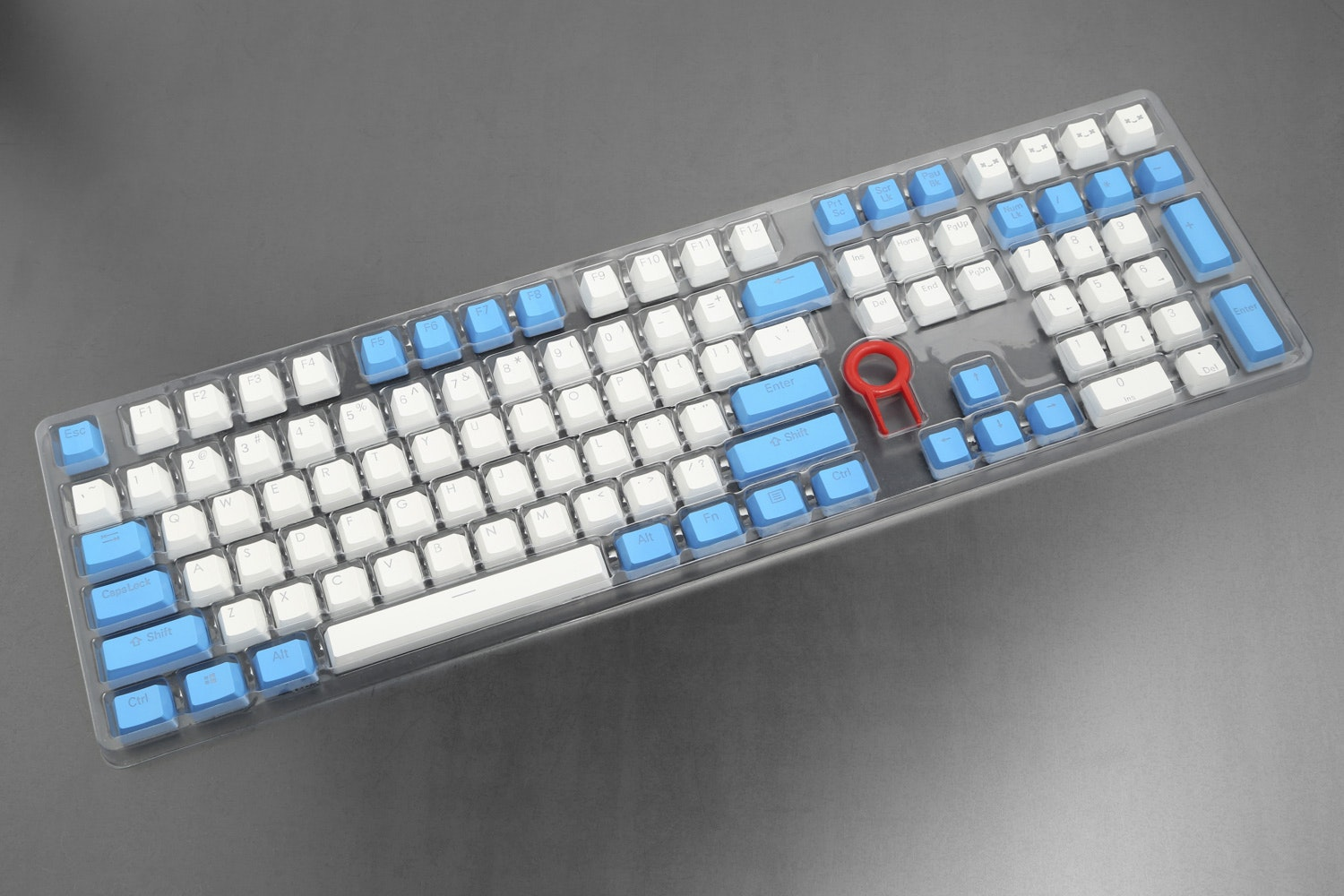 Backlit Doubleshot PBT Keycap Set