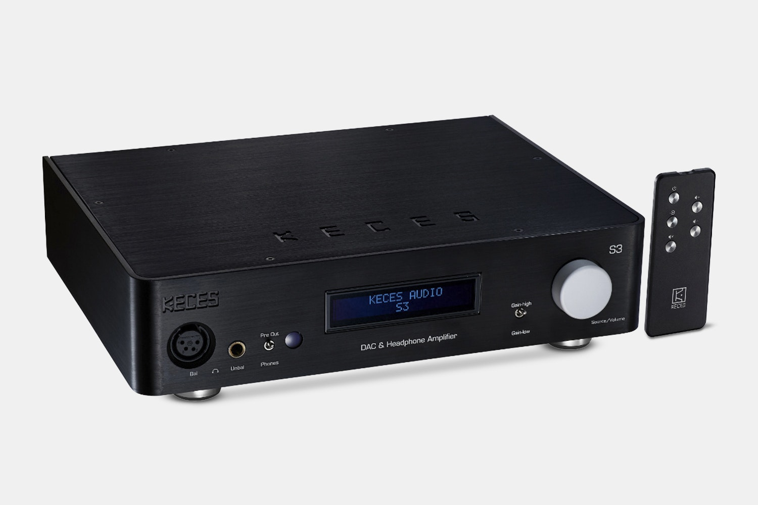 Keces S-3 Balanced DAC/Amp
