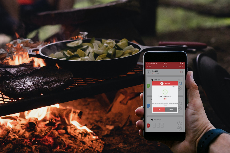 KeeWifi Easy BBQ Bluetooth Device