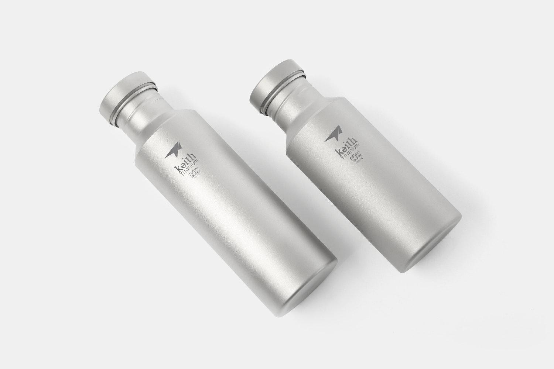 Keith Ti3031 & Ti3032 Titanium Sport Bottles