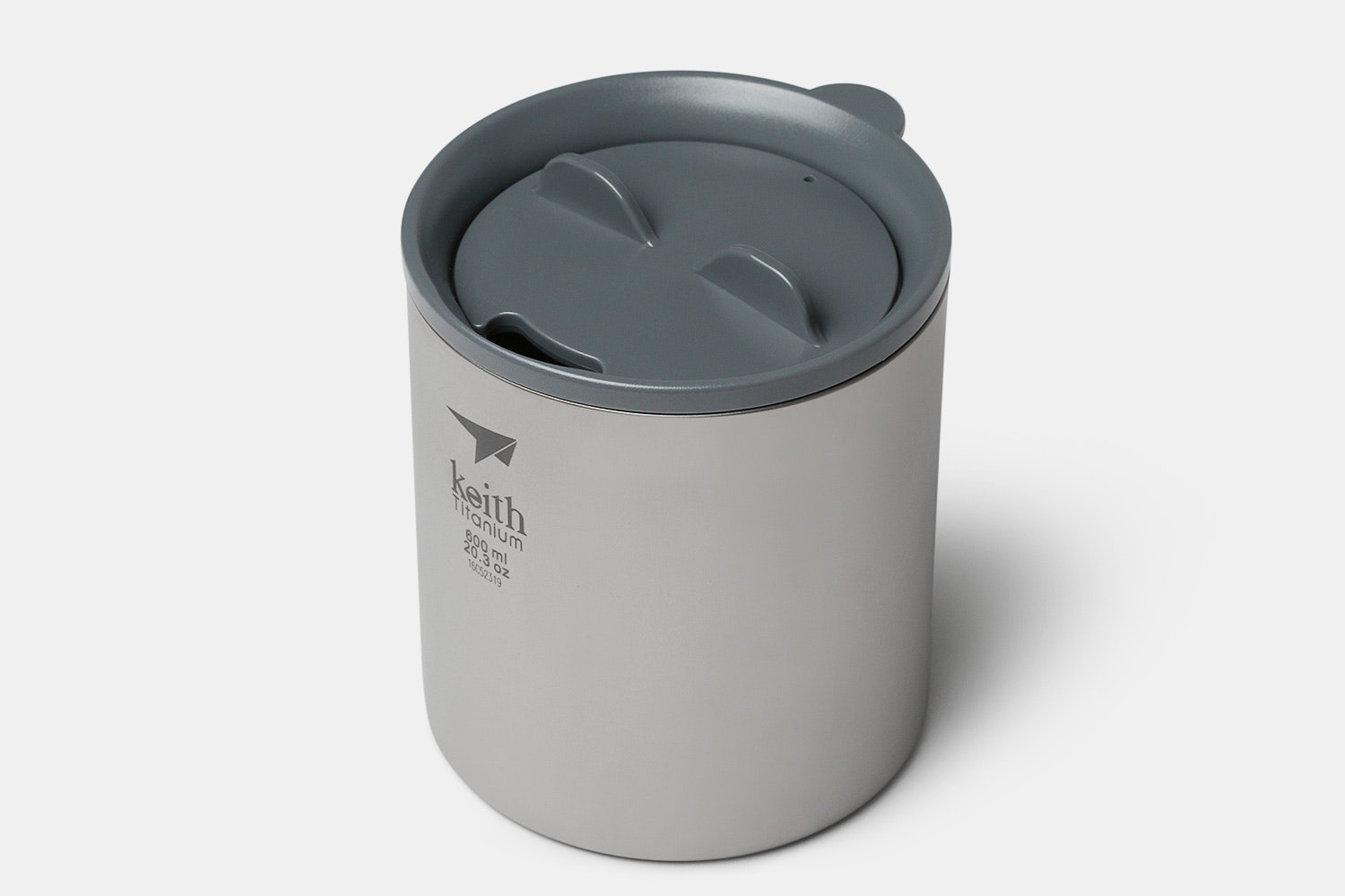 Keith Ti3306 Double-Wall Titanium Mug