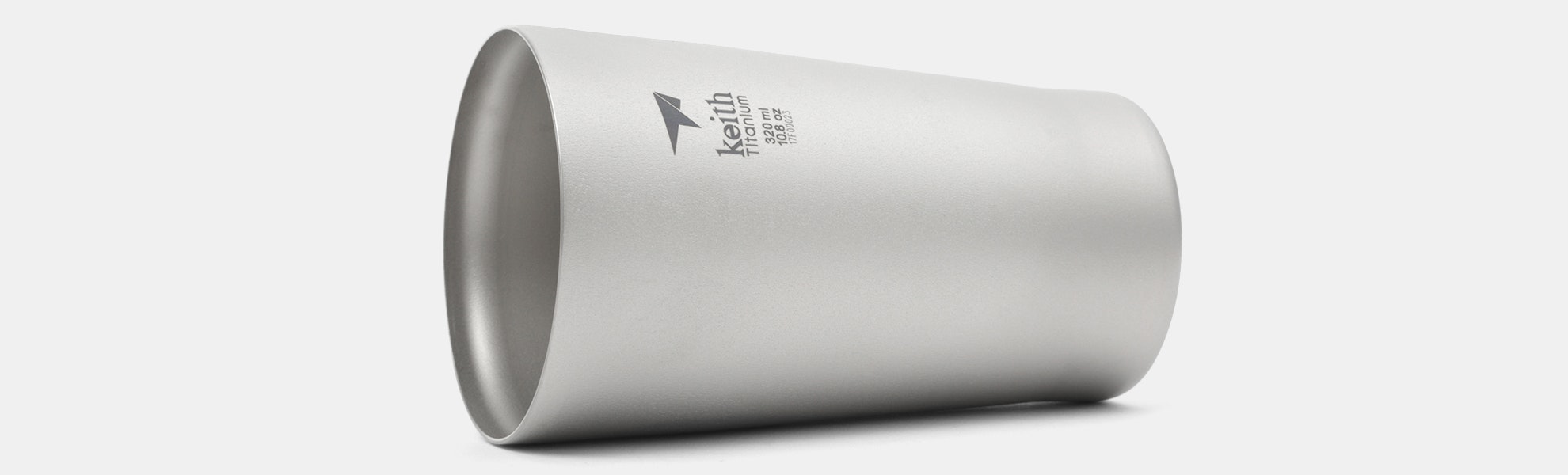 Keith Titanium Ti9221 Double-Wall Beer Cup
