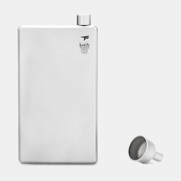 Keith Titanium 200ml Flask