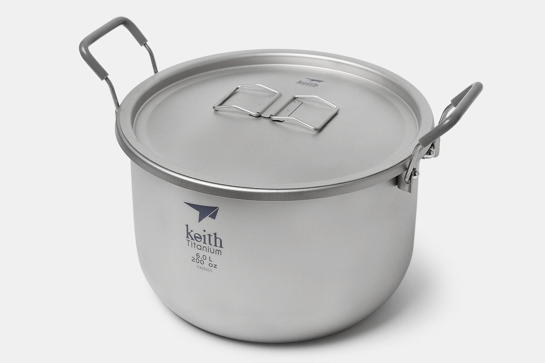 Keith Ti8301 6L Titanium Pot