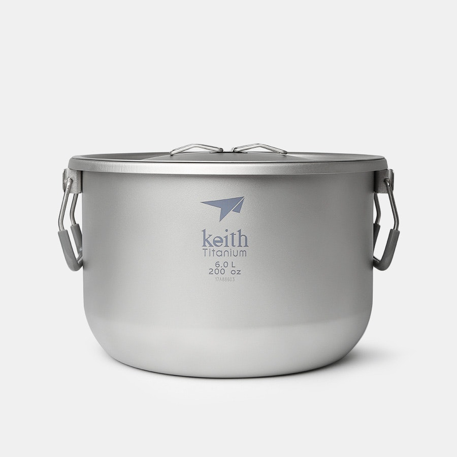 Keith Ti8301 6L Titanium Pot