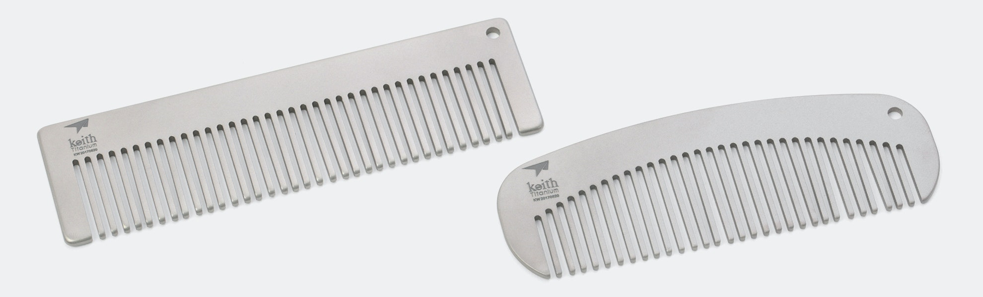 Keith Titanium Combs