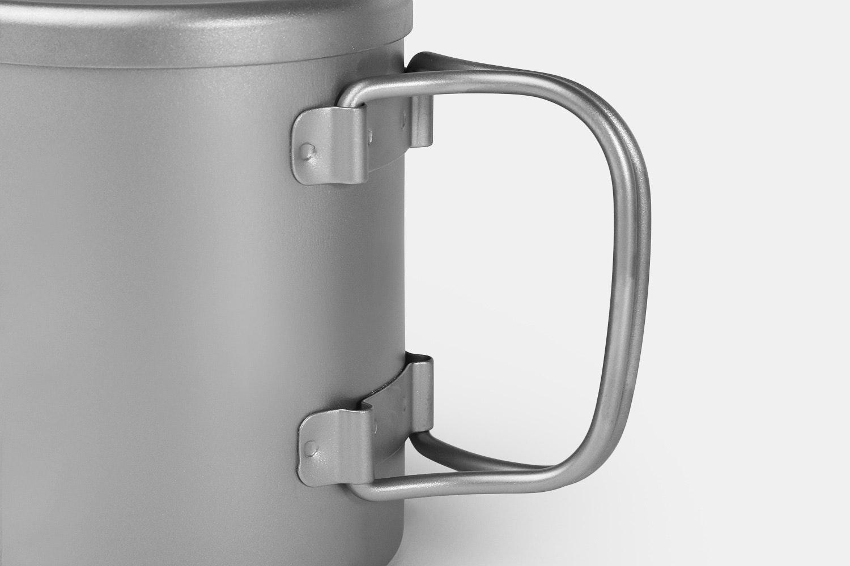 Keith Titanium Double-Wall Mugs