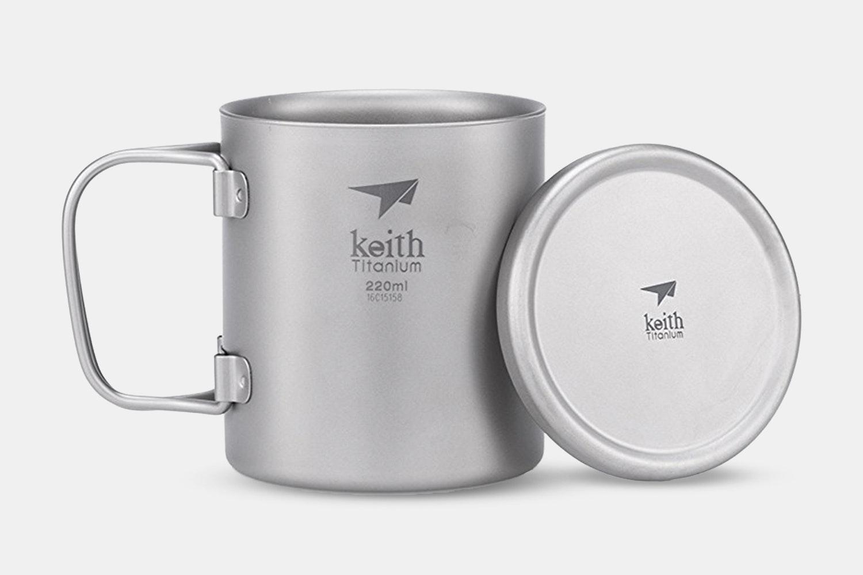 Ti3351 Double-Wall Mug With Folding Handle 220ml (+ $1)