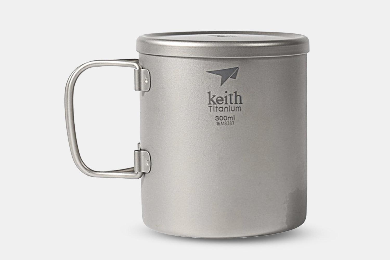 Ti3352 Double-Wall Mug With Folding Handle 300ml (+ $4)
