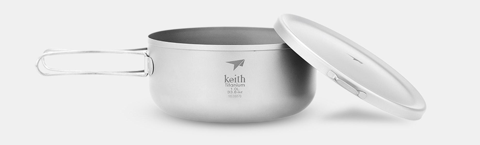 Keith Titanium Lunch Boxes