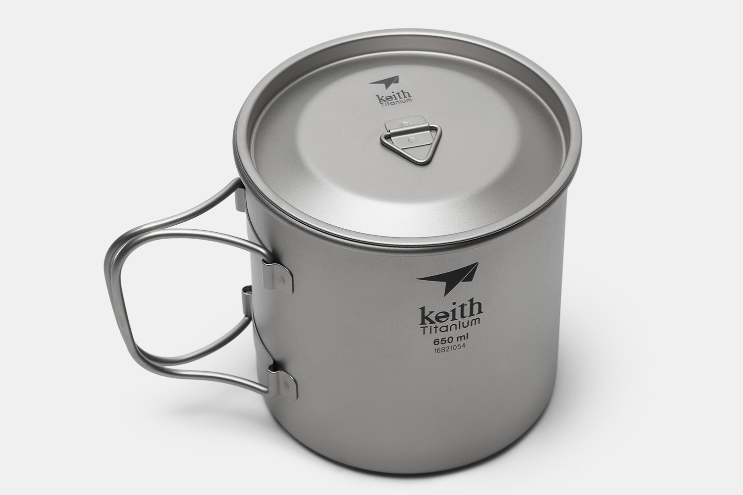 Keith Titanium Single-Wall Mugs