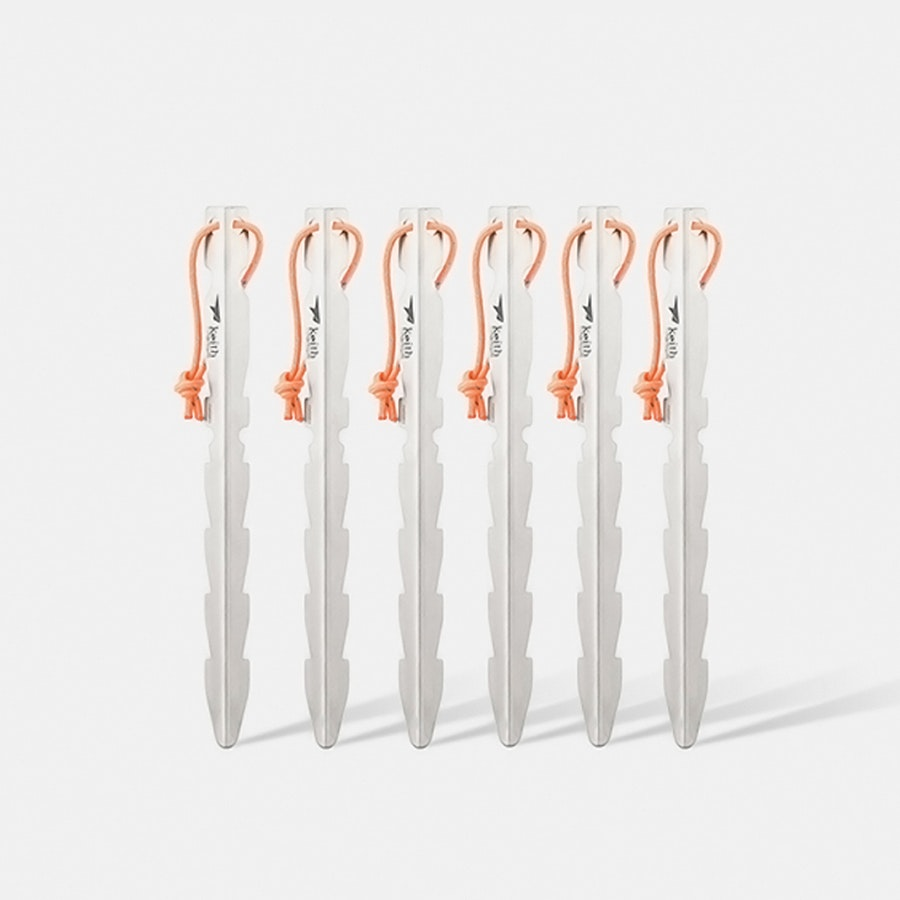 Keith Titanium Tent Stakes (6-Pack)