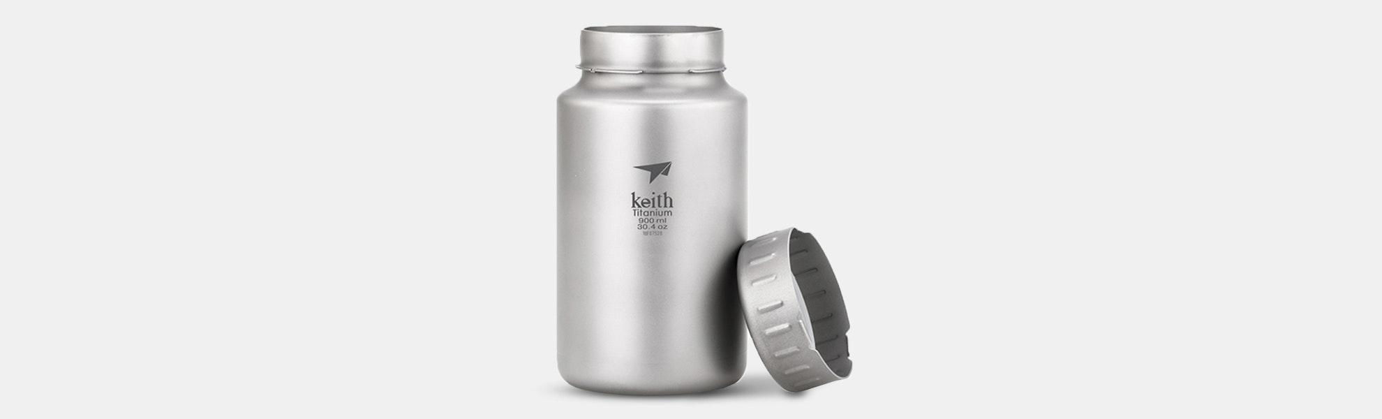 Keith Titanium 900ml / 1200ml Sport Bottles
