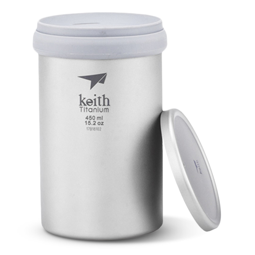 Keith Titanium Ti3521 Insulated Mug & Tea Infuser
