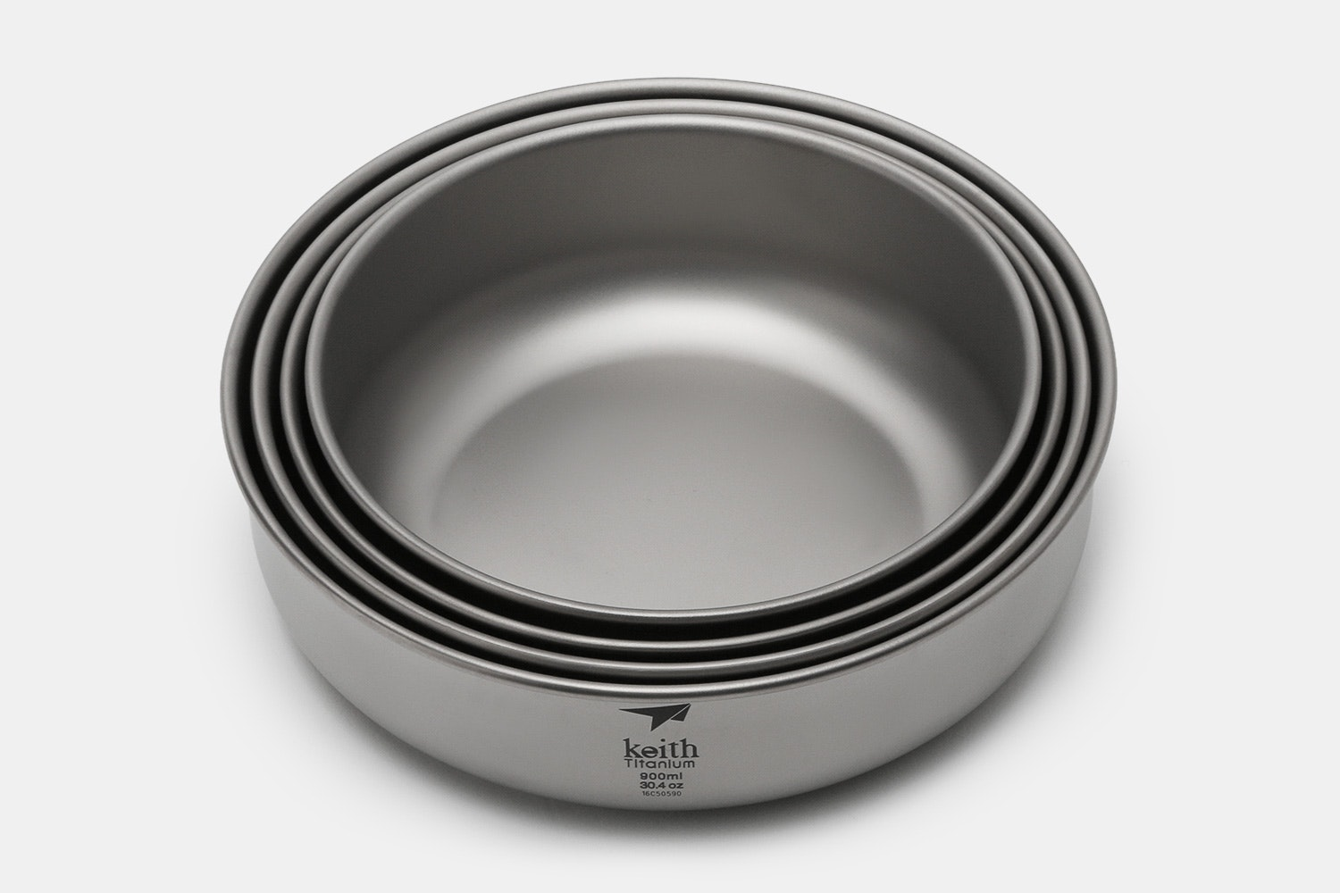 Keith Titanium Ti5376 4-Piece Bowl Set